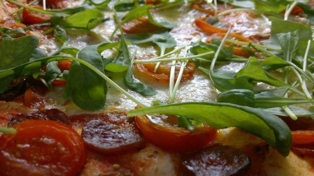 Pizza pellillä