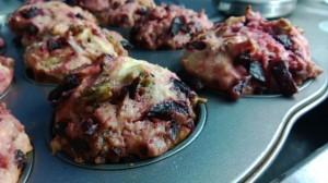 Valmiit muffinit